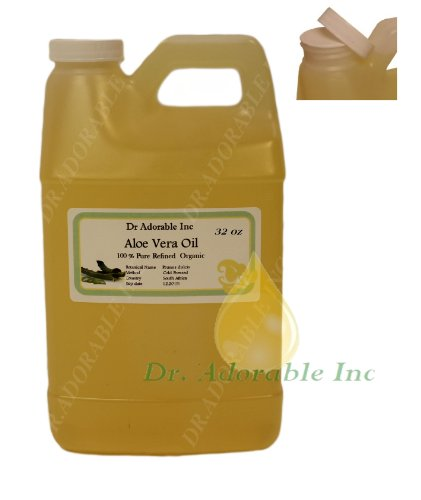 Aloe Vera Oil Area Of Outstanding Natural Beauty 32 Oz/1 Quart front-737150