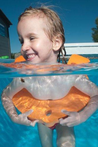 Schwimmbrett Fisch Schwimmfisch Schwimmhilfe Fisch GELB