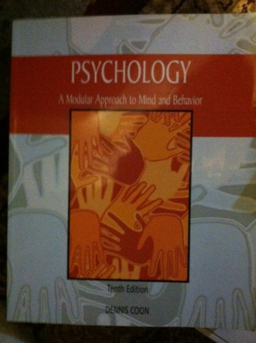 Psychology A Modular Approach to Mind and Behavior
