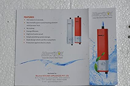 Blowhot BL-MWH01 Instant Mini Electric Water Heater