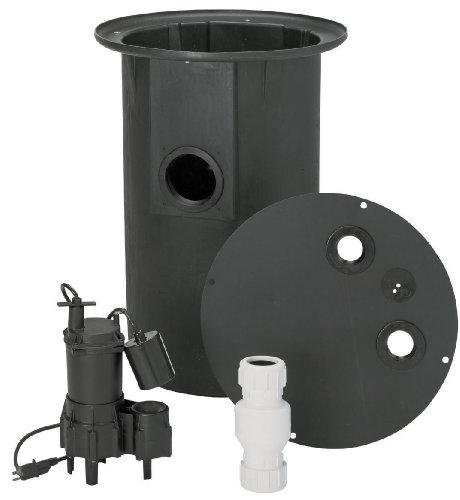 Basement Toilets: Flotec FP400C Sewage Ejector Pump By Flotec