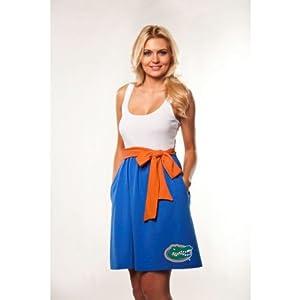 Florida Gators Chicka-d Ladies Blue Babydoll Bowtie Dress by Chicka-D LLC