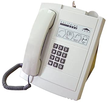 Solitaire 2000 Desktop Corded Telephone - Light Gray