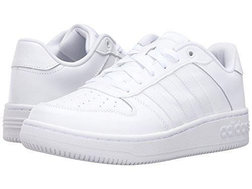 Adidas NEO Women's Team Court W Fashion Sneaker, White/White/White, 11 M US
