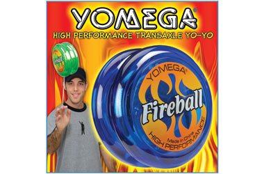 YOMEGA Fireball High Performance YO-YO Colors may vary - 1