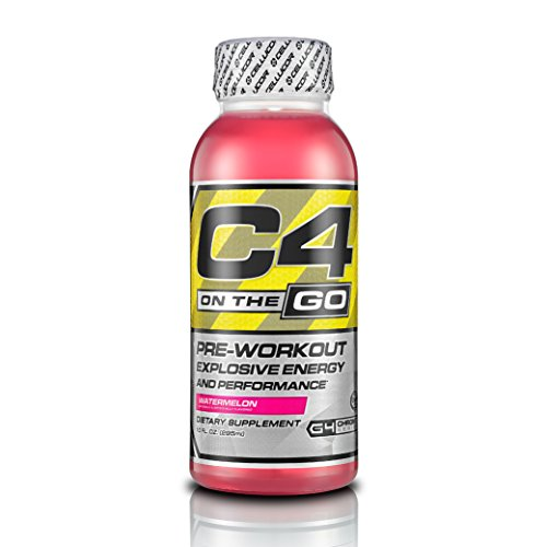 Cellucor C4 On The Go Pre Workout Energy Drink Supplements, Watermelon, 12 Count (Pre Workout Energy compare prices)