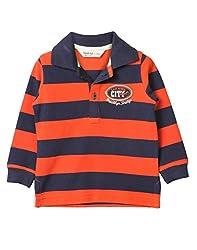 Beebay Y/D Pique Polo T-Shirt (C4015200503023_Navy_0-3M)