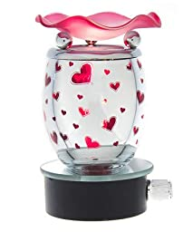 Lamps of Aroma - Plug in Aroma Lamp - Red Hearts