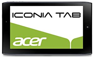 Acer Iconia A100 17,8 cm (7 Zoll) Tablet-PC (NVIDIA Tegra2, 1GHz, 1GB RAM, 8GB Flashspeicher, Android 3.2) blau