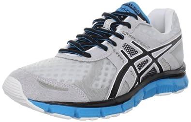 ASICS Men's GEL-Blur33 Running Shoe,Lightning/Black/Blue,6 M US