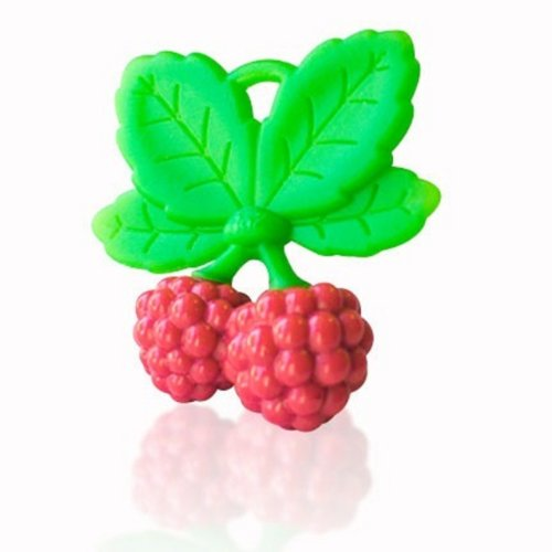 RaZbaby RaZzies Teether, Red and Green