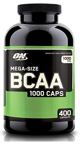 Optimum Nutrition BCAA 1000 Caps Branched Amino Acids ON Capsules | 400 Count (On 1000 Cap Bcaa compare prices)