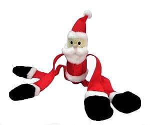 Kyjen Christmas Dog Toy Santa, SQUIGGLY SANTA