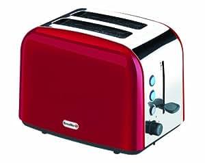 Breville VTT201 Red Stainless Steel 2 Slice Toaster