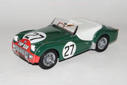 Triumph TR3S Cabrio 24h LM Le Mans Nr 27 1959 1/18 Kyosho Modell Auto