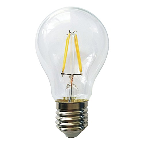 Amledtek A-Bf400 Led Filament A19 4W To Replace 40W Incandescent Bulb Softwhite (2700K)