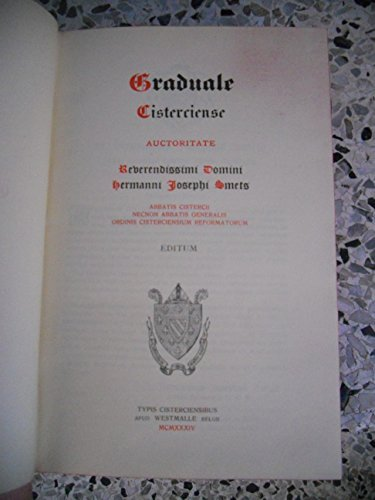 graduale-cisterciense-auctiritate-reverendissimi-domini-hermanni-josephi-smets