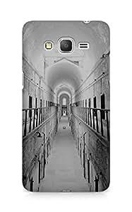 Amez designer printed 3d premium high quality back case cover for Samsung Galaxy Grand Prime (Old hall dark city ruin)