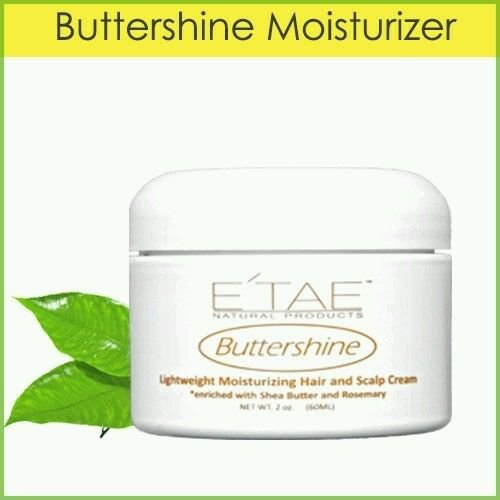E'TAE Natural Products - Buttershine Moisturizing Hair and Scalp Cream 2oz (Moisturizers For Natural Hair compare prices)