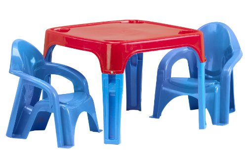 American Plastic Toy Table and Chairs Set