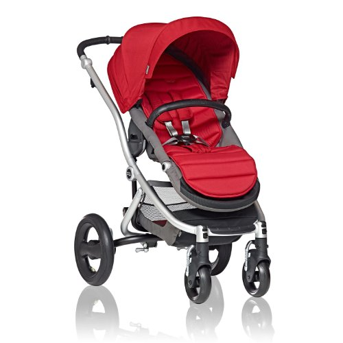 britax-affinity-complete-stroller-red-pepper-silver