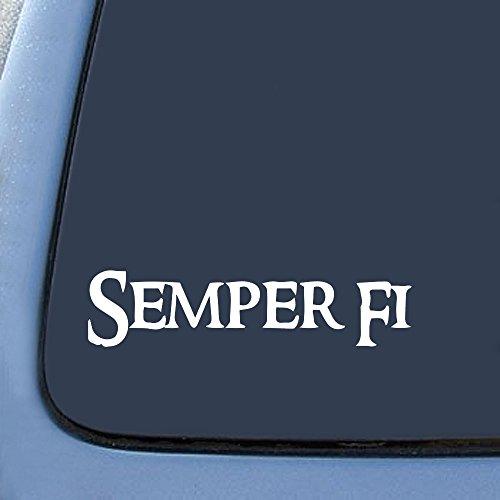 semper-fi-marines-sticker-decal-notebook-car-laptop-6-white