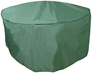 Bosmere C521 84-Inch Round Table & Chairs Cover x 33-Inch High