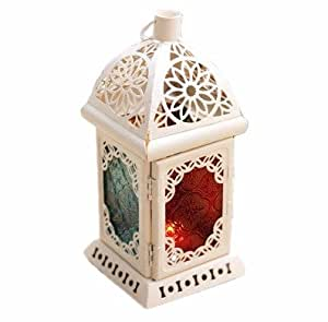 amazoncom candle holder pillar votive hurricane white With kitchen colors with white cabinets with pillar hurricane candle holders