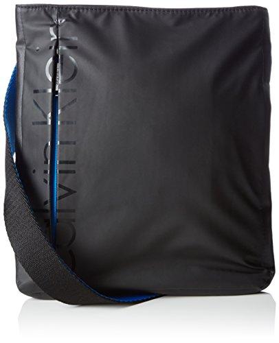 Calvin Klein - LOGAN FLAT CROSSOVER, Borse da uomo, black, OS