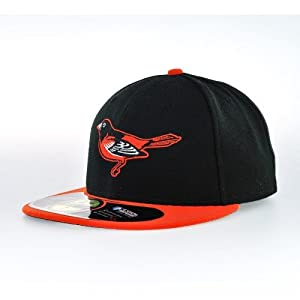 Baltimore Orioles New Era 5950 Fitted Size 8 Hat MLB Authentic Cap by New Era