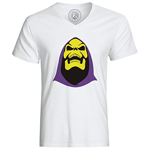 T-shirt Skeletor Head He Man Master Of The Universe