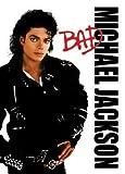 PC9850 Michael Jackson 10cm x 15cm postcard - Bad album cover