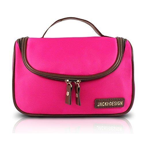 jacki-design-essential-travel-cosmetic-bag-w-hanger-hot-pink-by-jacki-design