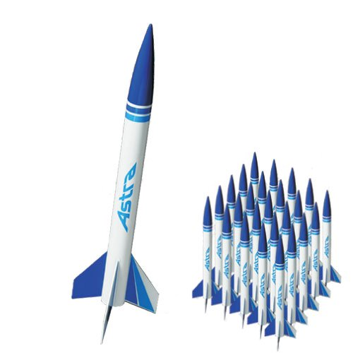 Quest Aerospace Astra 1 Model Rocket Value Pack (25)