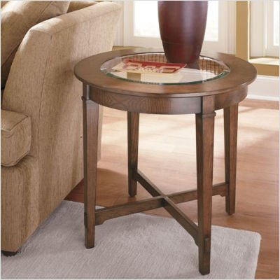 Cheap Hammary T1006335-00 Prairie Round End Table (T1006335-00)