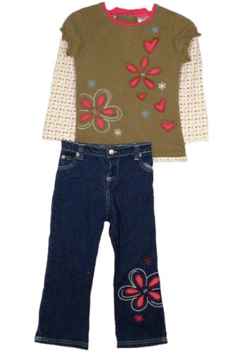 Young Hearts Toddler Girls 2pc Denim Pants Set - Buy Young Hearts Toddler Girls 2pc Denim Pants Set - Purchase Young Hearts Toddler Girls 2pc Denim Pants Set (Young Hearts, Young Hearts Apparel, Young Hearts Toddler Girls Apparel, Apparel, Departments, Kids & Baby, Infants & Toddlers, Girls, Pants)