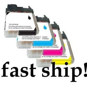16-Pack Non-OEM Inkjet Cartridge for Brother LC61BK LC61C LC61M LC61Y LC61 BLACK CYAN MAGENTA YELLOW