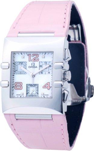 OMEGA (オメガ) 腕時計 コンステレーション クアドラクロノ ピンクシェル 1841.70.34 レディース [並行輸入品]