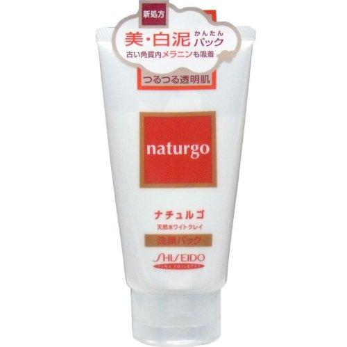 洗顔パック 天然 黒ずみ 角栓 ホワイトクレイ配合の洗顔パック洗顔パック 120g