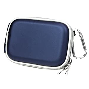 GTMax Universal Camera Blue/Black Eva Pouch Cover Case
