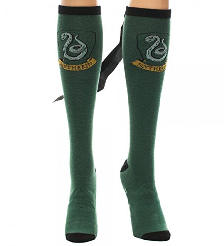 Harry Potter SLYTHERIN Crest Green Knee-High SOCKS with CAPE
