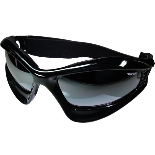Polarlens PG2 goggles / Snowboard Goggles / Winter Sport Goggles with FLASH MIRROR + microfiber cleaning cloth pouch