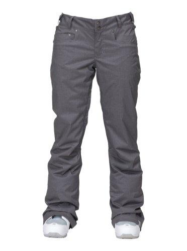Roxy Damen Snowboard Hose Progression, cavern grey, M, WPWSP124-CNG-M