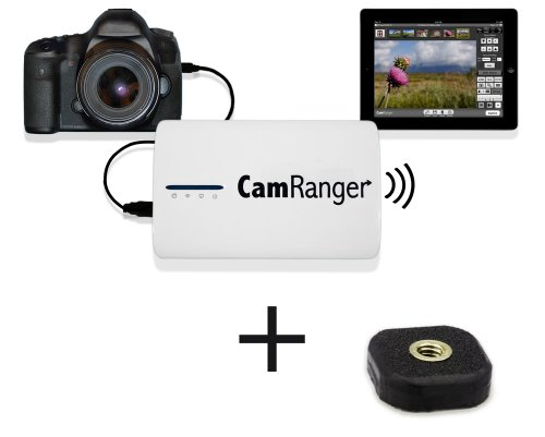 Camranger Wireless Nikon & Canon Camera Controller For Ipad, Iphone, Mac, Android Or Pc Includes A Tether Tools' Mighty Mount