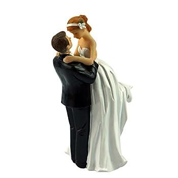 Yepmax Wedding Cake Topper Figurine Couple, 3 X 3 X 6-Inch