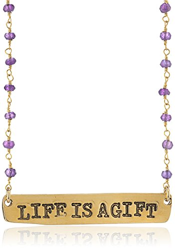 Alisa Michelle Life Is A Gift Necklace