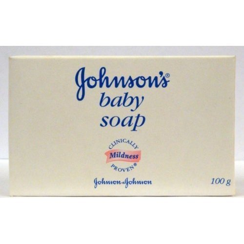 Johnson & Johnson Baby Soap Gentle 3.5 Oz. 100 G (Pack Of 3) front-63038