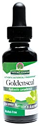 Nature\'s Answer Alcohol-Free Goldenseal Root, 1-Fluid Ounce
