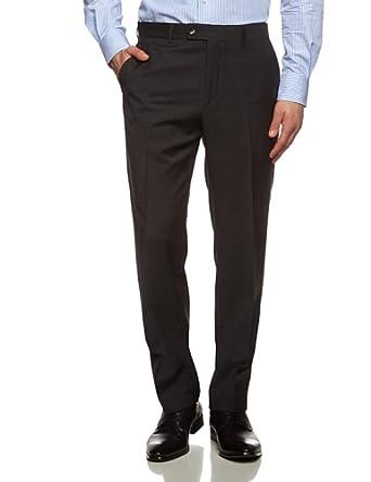 Tommy Hilfiger Tailored - Brooks - Pantalon de costume - Homme - Gris (Anthrazit 028) - FR: W110 (Taille Fabricant: 110)