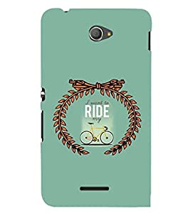 PRINTSWAG QUOTE Designer Back Cover Case for SONY XPERIA E4 DUAL